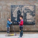 El pasado y el futuro de China Imagen de archivo