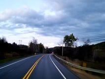 El pasar con Brockport Pennsylvania con mi tractor remolque foto de archivo