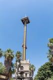 El paseo del cóndor de Hurakan en parque de atracciones de Aventura del puerto Fotos de archivo libres de regalías