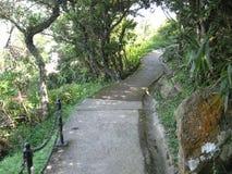 El paseo del gobernador, Victoria Peak, Hong Kong fotografía de archivo libre de regalías