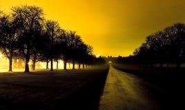 El paseo largo en Windsor, Reino Unido fotos de archivo libres de regalías