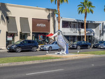 El Paseo Shopping District Stock Photography