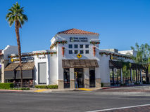 El Paseo Shopping District Stock Photo