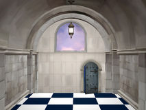 El pasillo imagen de archivo
