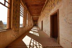 El pasillo de jaral berrio abandonó hacienda mexicana Imagen de archivo