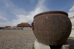 El Pasillo de la armonía suprema en la ciudad prohibida imágenes de archivo libres de regalías