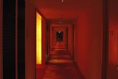 El pasillo de un hotel Foto de archivo libre de regalías