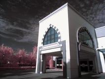 El pasillo del hospital AR-Rahmah Imagen de archivo