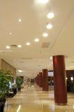 El pasillo del hotel Fotografía de archivo libre de regalías