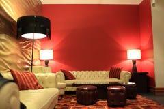 El pasillo del hotel Imagenes de archivo