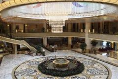 El pasillo del hotel Fotos de archivo