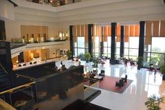 El pasillo del hotel de Oberoi Bombay Imagen de archivo libre de regalías