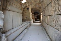 El pasillo del teatro de Ephesus Imagen de archivo libre de regalías