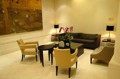 El pasillo en hotel Fotos de archivo