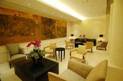El pasillo en hotel Fotografía de archivo libre de regalías