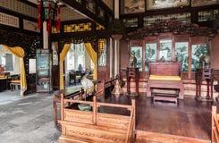 El pasillo en palacio imagenes de archivo