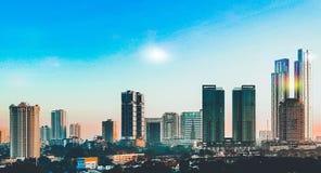 El pasillo meridional Johor Bahru imagenes de archivo