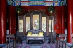 El pasillo real de China fotografía de archivo