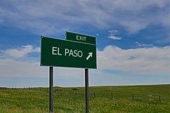 El Paso Fotografia Stock