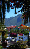El Paso auf Insel La Palma, Kanarienvogel Lizenzfreie Stockbilder