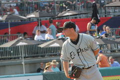 El Paso Chihuahua pitcher Royalty Free Stock Images