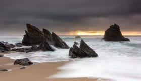 El paso de la tormenta Imagen de archivo