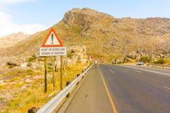 El paso de Michell en Western Cape, Suráfrica Fotos de archivo