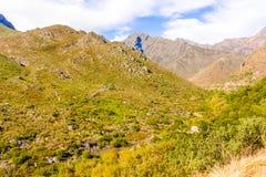 El paso de Michell en Western Cape, Suráfrica Fotos de archivo libres de regalías