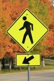 El paso de peatones canta Imagenes de archivo