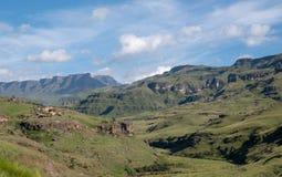 El paso de Sani, paso de montaña muy alta que conecta Suráfrica con Lesotho fotos de archivo