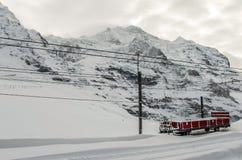 18 01 029 El paso Jungfraujoch fotografía de archivo libre de regalías