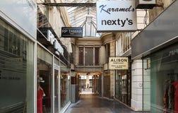 El paso parisiense famoso du Caire, Francia Fotos de archivo libres de regalías