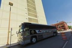 El Paso Sheriff Bus Stockfotos