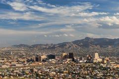 El Paso Skyline Lizenzfreie Stockfotos