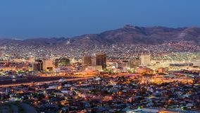 El Paso, Texas, USA Downtown Skyline stock video footage