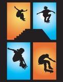 El patinador ventila Imagen de archivo libre de regalías