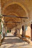 El patio de la mezquita Foto de archivo