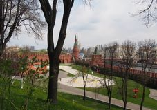 El patio de la Moscú el Kremlin Foto de archivo