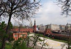 El patio de la Moscú el Kremlin Imágenes de archivo libres de regalías