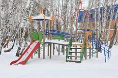 El patio de los niños Imagen de archivo