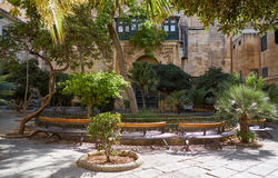 El patio del ` s de príncipe Alfred del palacio del ` s del Grandmaster valle fotografía de archivo libre de regalías