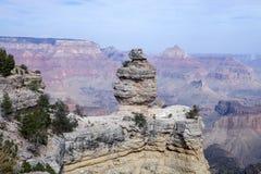 El pato famoso en una roca en Grand Canyon Imágenes de archivo libres de regalías