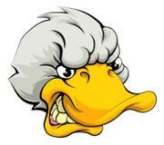 El pato se divierte la mascota Fotos de archivo libres de regalías