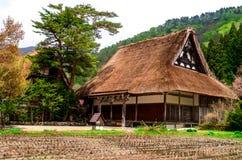 El patrimonio mundial Shirakawa-va Imagen de archivo libre de regalías