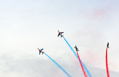 El Patrouille de Francia Fotos de archivo