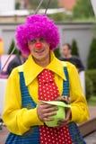 El payaso sonriente Imagen de archivo libre de regalías