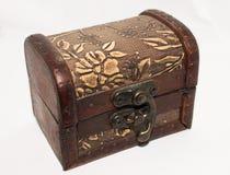 El pecho de madera Foto de archivo libre de regalías