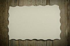 El pedazo de Libro Blanco viejo Foto de archivo libre de regalías