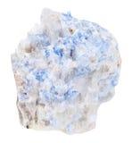 El pedazo de Wischnevite azul Vishnevite aisló Imágenes de archivo libres de regalías