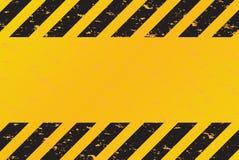 El peligro raya vector Imágenes de archivo libres de regalías